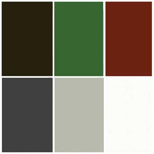 Sweden Green House's utvalda färger på linoljekitt