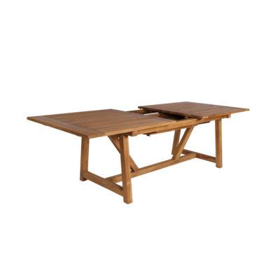 George - bord i teak med utdragsskiva
