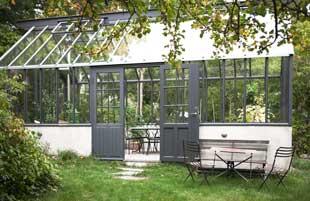 Det här växthuset är mindre än 25 kvadratmeter och kan därför byggas utan bygglov.