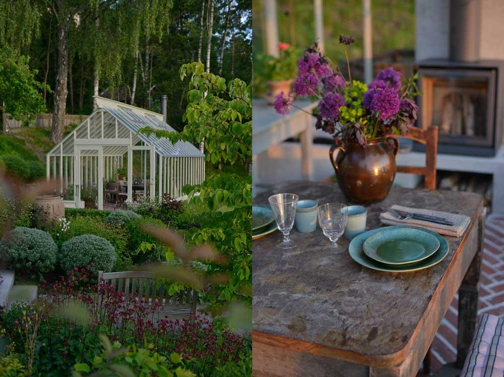 Växthuset som sweden Green House byggt hemma hos Victoria Skoglund som driver Zetas.