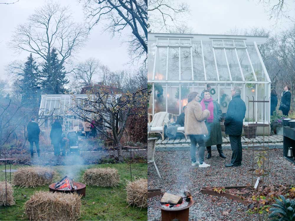 I söndags hade vi öppet hus i växthuset och det kom mycket folk.