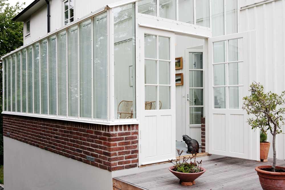Växthus med isolerglas
