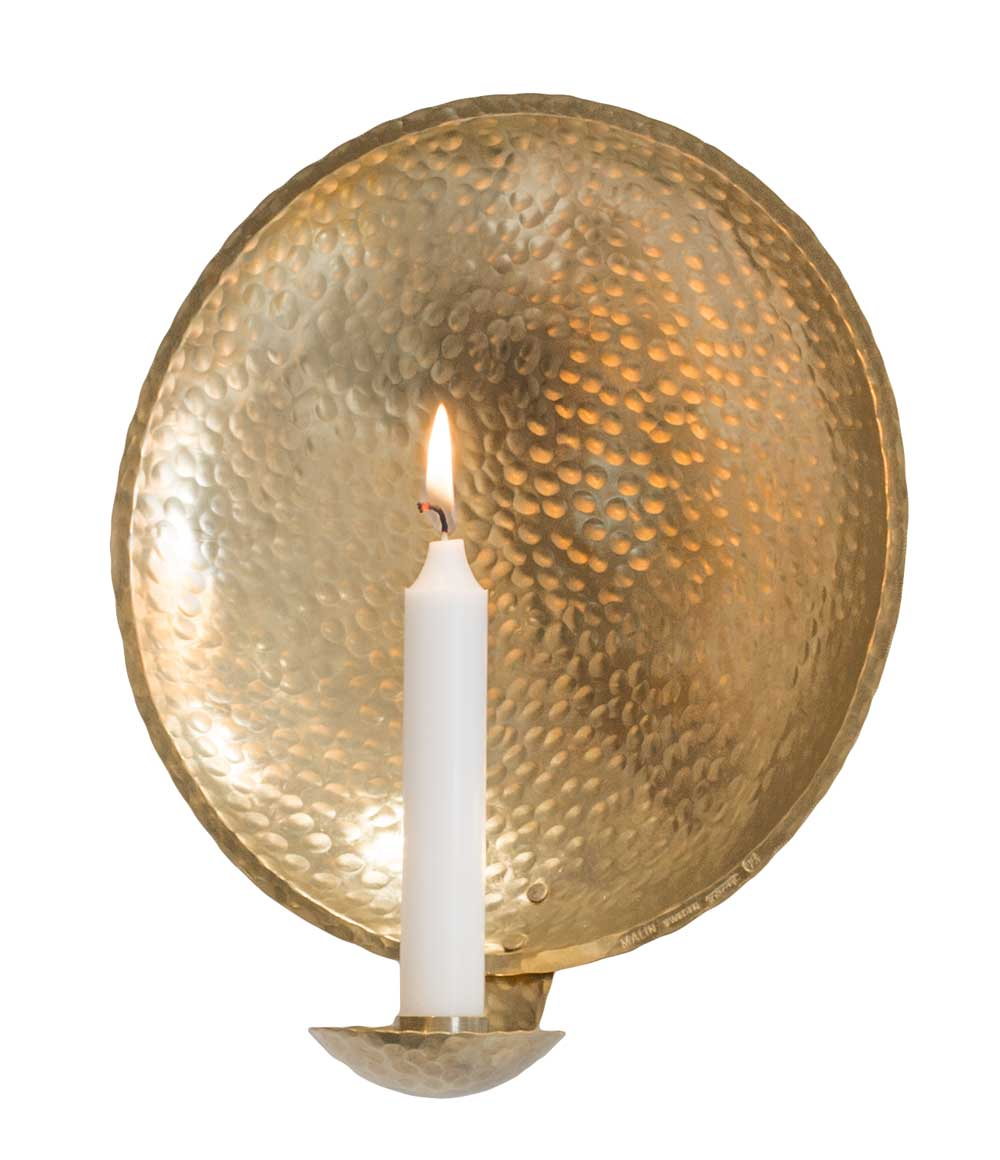 Ljuslampetten av smeden Malin Appelgren är en favorit.