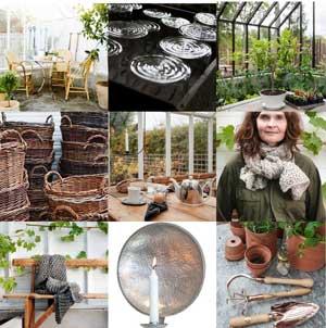 Ett axplock av prylar som är både praktiska och vackra i växthuset.