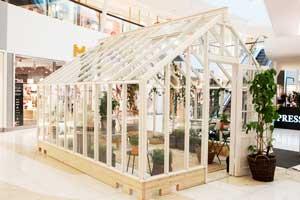 vårt växthus i Nacka Forum