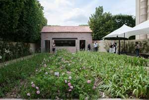 Modehuset Chanels monter på trädgårdsmässan Jardins Jardin
