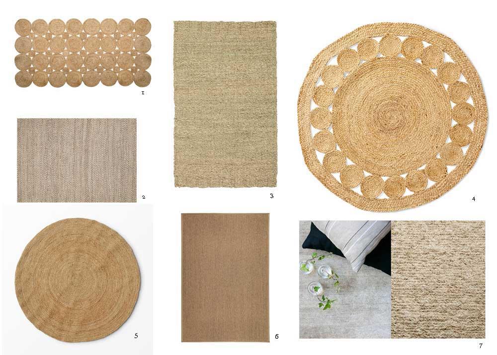 sju olika mattro sim vi tycker passar i växthuset.
