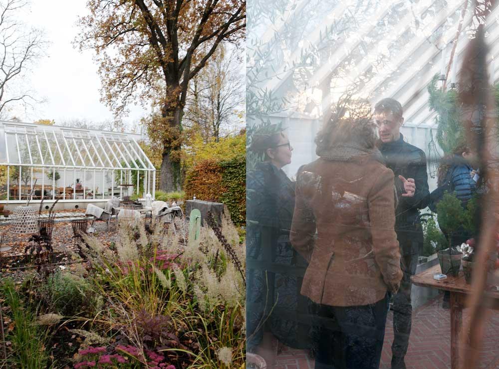 Öppet växthus i Nacka den 7 oktober med tema färg.