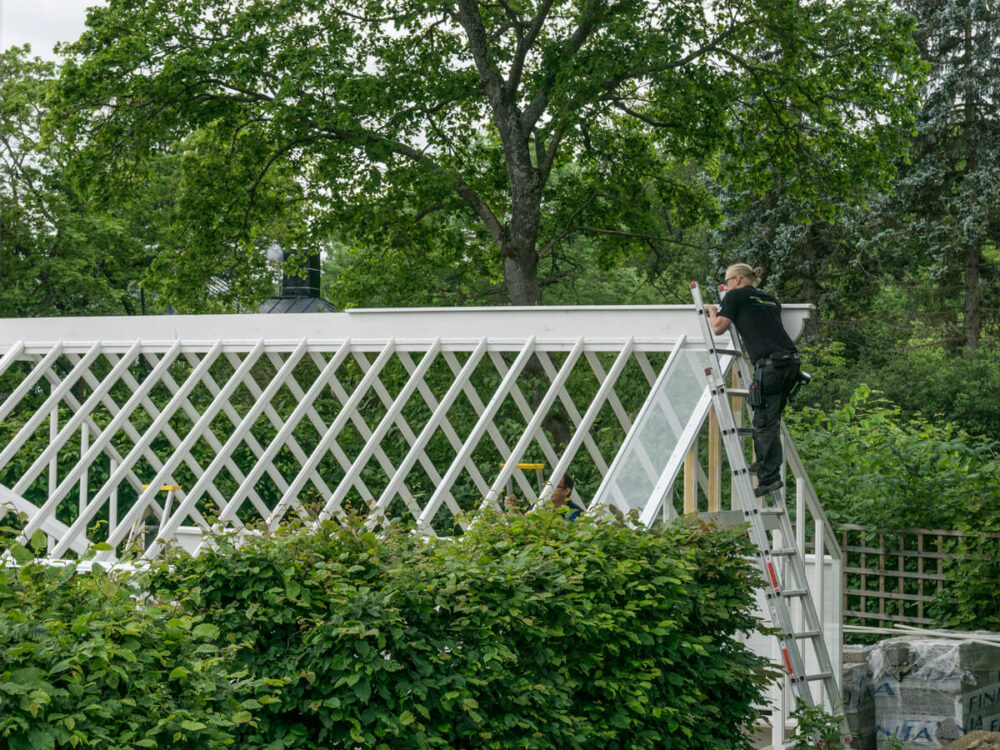 Glasning av växthus