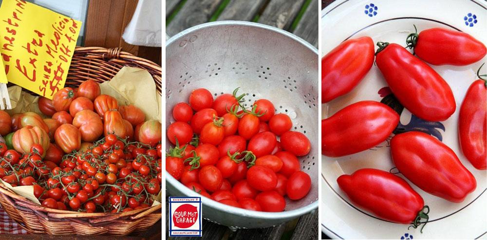 Italienska tomater att odla i växthus.