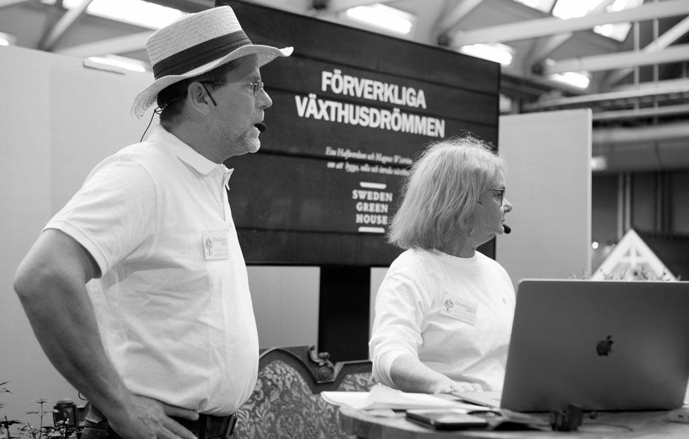Magnus Wiström och Eva Halfwordson.