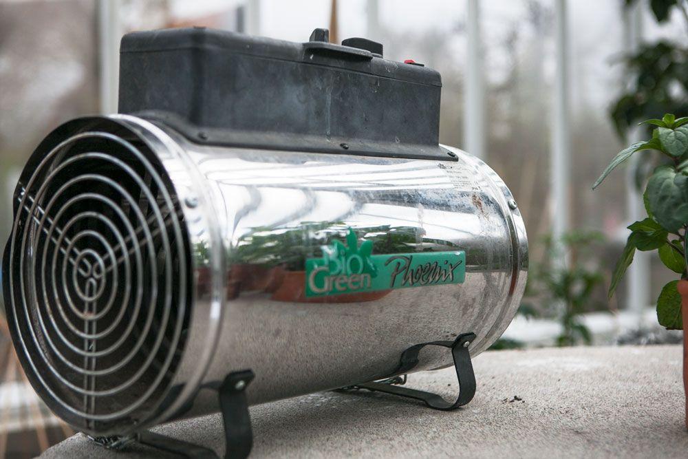 Värmare för växthus