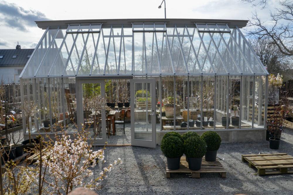 Växthus på Zetas