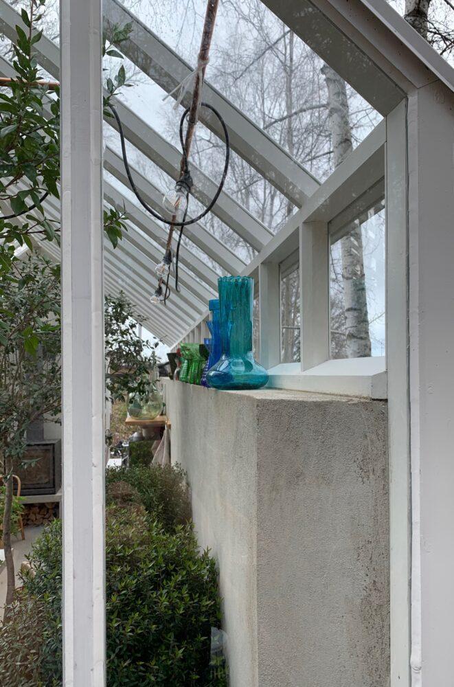 glas i växthuset