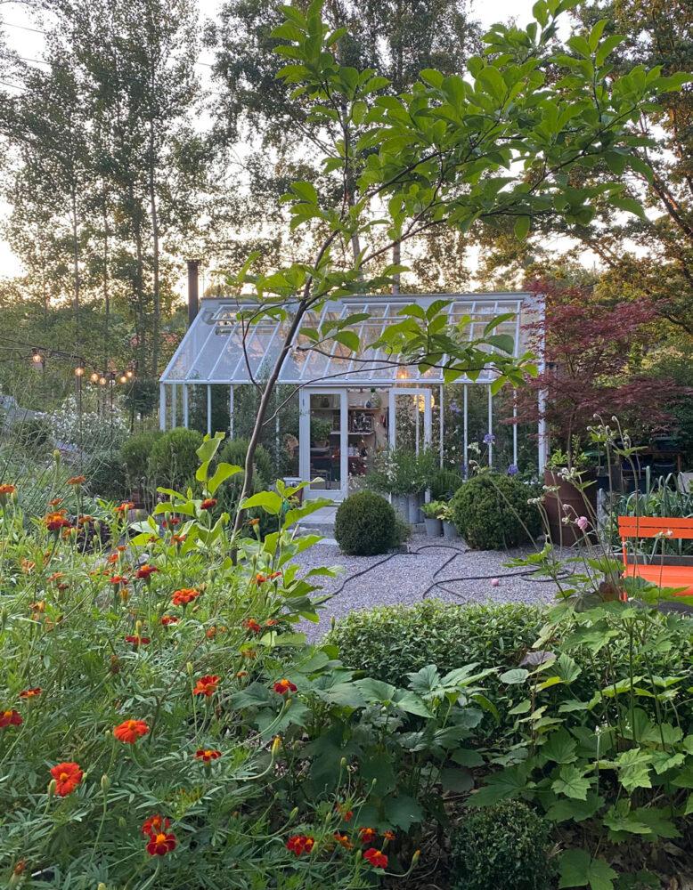 Växthus i Attefallsstorlek.